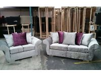 Brand New DQF (Crush Velvet) 3&2 deal .. ONLY £499