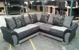 Top Quality 8ftx8ft DQF Corner Sofa ONLY £749