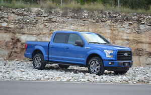 2015 Ford F-150 Blue SuperCrew Pickup Truck