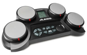 ALESIS COMPACTKIT 4 (4-Pad Portable Tabletop Drum Kit) - SUMMER