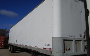 4 Storage Trailer 48' to 32' 1500.00 to 1000.00