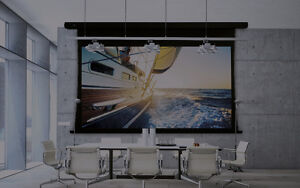 Brand New Projector Screens Motorized
