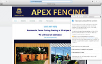 Apex Fencing - we BEAT competition!