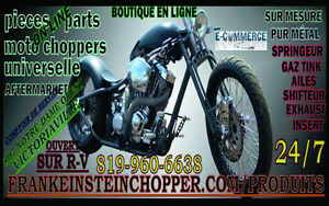Fenders ailes red harley davidson front 165MM West Island Greater Montréal image 2