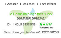 In Home Training Starter Pack Summer Special!
