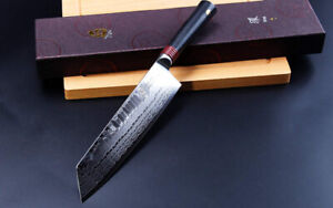 "4x Different TUO 8.5"" Chef Kiritsuke Knives 