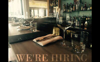 Looking for waiters and bartenders