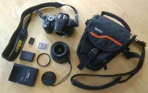 Nikon D3100 DSLR Camera - Like New
