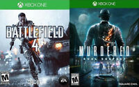 XBOX ONE Games For Sale/Trade - Battlefield 4, Murdered Soul