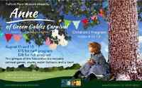 Fulford Place Museum Presents: Anne of Green Gables Carnival