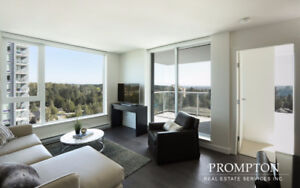 Brand New 2 Bed 2 Bath. Largest Available. Unobstructed Views