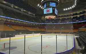 Pair of Row 13 Golds for Maple Leafs Home Games - Best Value!!!