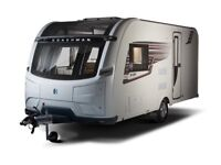 6 month old Coachman V.I.P 545 single axle caravan with motor mover, private bathroom & motor mover