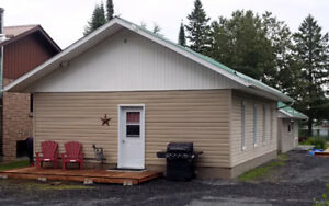 Furnished 3 bedroom winterized cabin Iroquois Falls area
