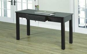 Office Desk or Study Desk with Drawer - Espresso Espresso