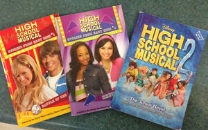 3 Disney books about High School Musical