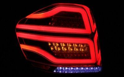 LED BAR RÜCKLEUCHTEN für MERCEDES BENZ W164 M-KLASSE 05-08 ROT KLAR LIGHTBAR NEU