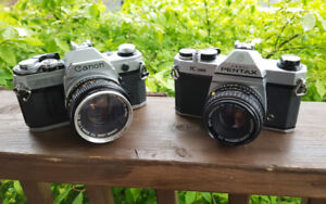 Film Cameras, Lenses, Instant Cameras, and more