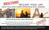 For REALTORS! Exciting 3-Hour Workshop in Oakville, FREE!