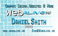 WEBALIVE.me - Websites & graphic design solutions