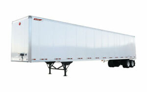 Rent Storage Trailers - 430 sq ft storage space + 9ft ceilings