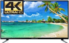 BRAND NEW BLUE DIAMOND 55 INCH 4K SMART TV WITH ANDROID,