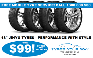 18 inch Jinyu Tyres with FREE Mobile Tyre Service Beeliar Cockburn Area Preview