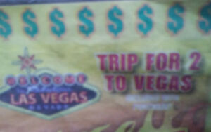 Trip for 2 to vegas 300!!! Air and hotel