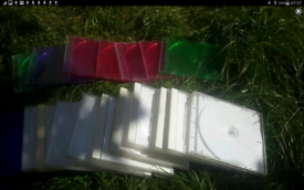 CD Cases, colored