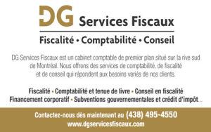 Services Comptables et Fiscaux à partir de 150$/mois