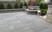 Pavage JNB Paving, Unistone walkways, Retaining walls, Asphalt