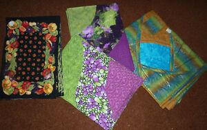 Several sets of Quilted Placemats (NEW)