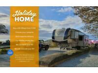 Cross Country RV Holiday Home • 5th Wheel American Caravan • Use as a Static