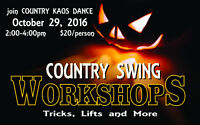 Country Kaos presents Lifts and Tricks Dance Workshop