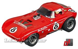 Carrera Evolution Bill Thomas Cheetah Yeakel Racing, No. 8 slot car 27413