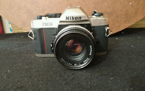 Film Camera nikon fm10+ 50mm F1,8 lens-argentique appareil photo
