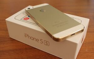 iPhone 5s 16GB Blanc Or Bell