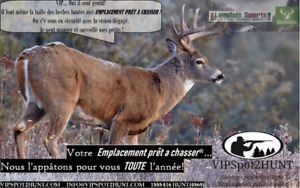 LOCATION TERRE CHASSE
