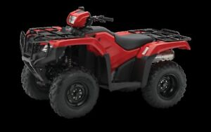 2017 Honda TRX 500 FM - foot shift - $6699.00