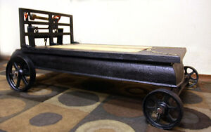 CENTURY Factory Scale IRON Coffee Table  SEE VIDEO