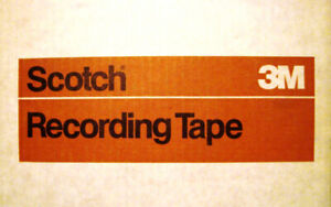 3M  Scotch Brand Recording Tape