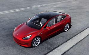 Tesla Model 3 reservation (2000$)