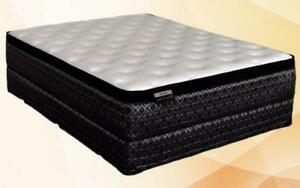 Orthopedic Euro Top Mattress - Velvet Rose King / Beige & Black