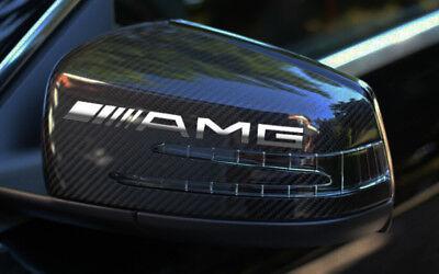AMG 3 Stk.Mercedes Aufkleber Stickers Spiegelaufkleber  CHROMEFFEKT Folie