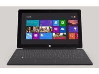 """Microsoft Surface 10.6"""" 64GB Tablet - - Windows 8 - with keyboard"""