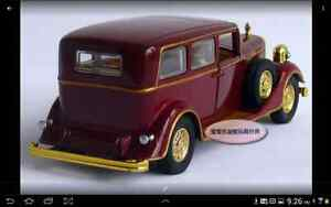 1:32 Cadillac The Chinese Emperor's Car Toy Diecast Model Red London Ontario image 3