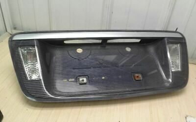 04-08 Acura TL Back up Light Lamp Lense License Plate Garnish Trim Panel OEM