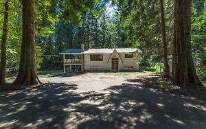 2 Acres with House, Suite and Shop in Cedar!