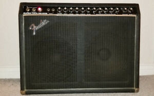 1978 Fender Super Twin Amp Trade For A Guitar