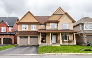 Single house for rent in Findlay Creek Ottawa 6 bedrooms